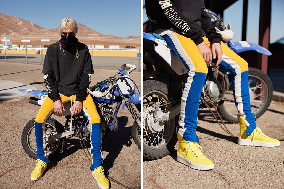 Motocross inspira coleção da Fear of God