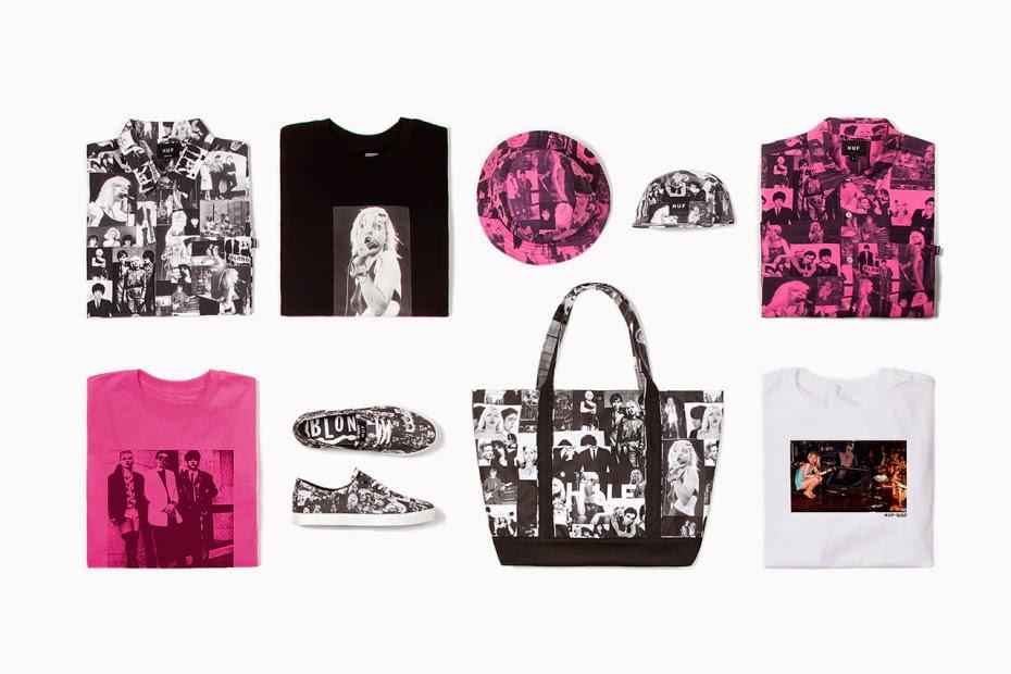 HUF x Blondie: coleção comemora 40 anos da banda