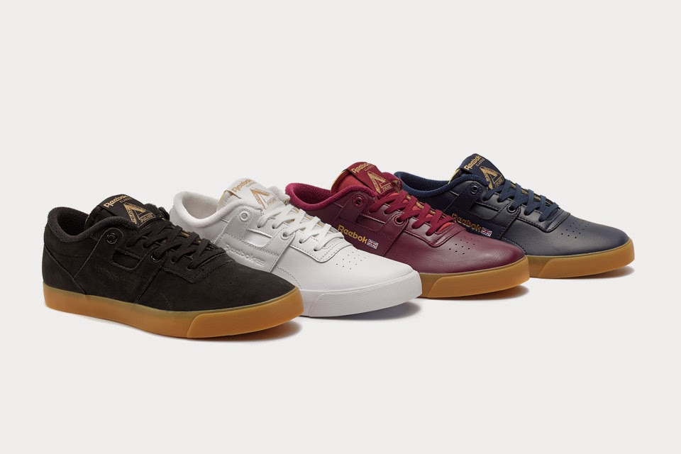 Palace Skateboards x Reebok Vulcanized Workout Low
