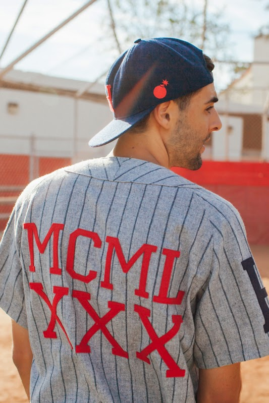 The Hundreds x Ebbets Field Flannels (Coleção cápsula 2014)