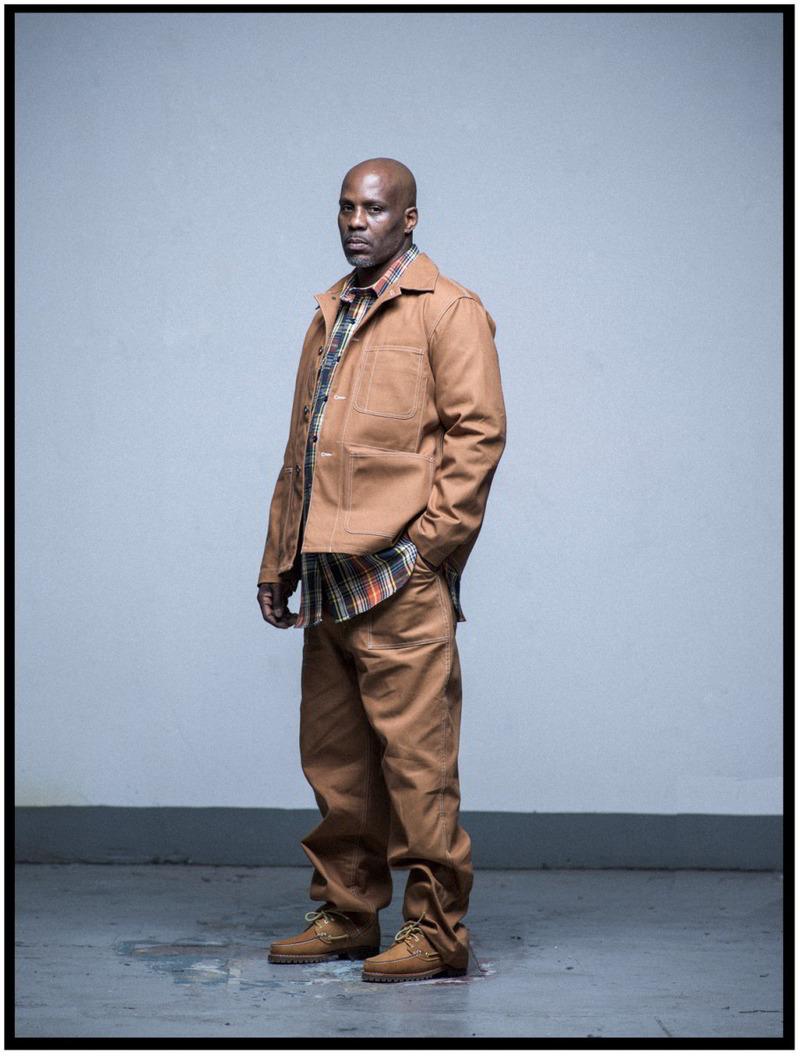 timberland engineered garments workday dmx lookbook 04 - Rapper DMX estrela campanha de parceria da Timberland