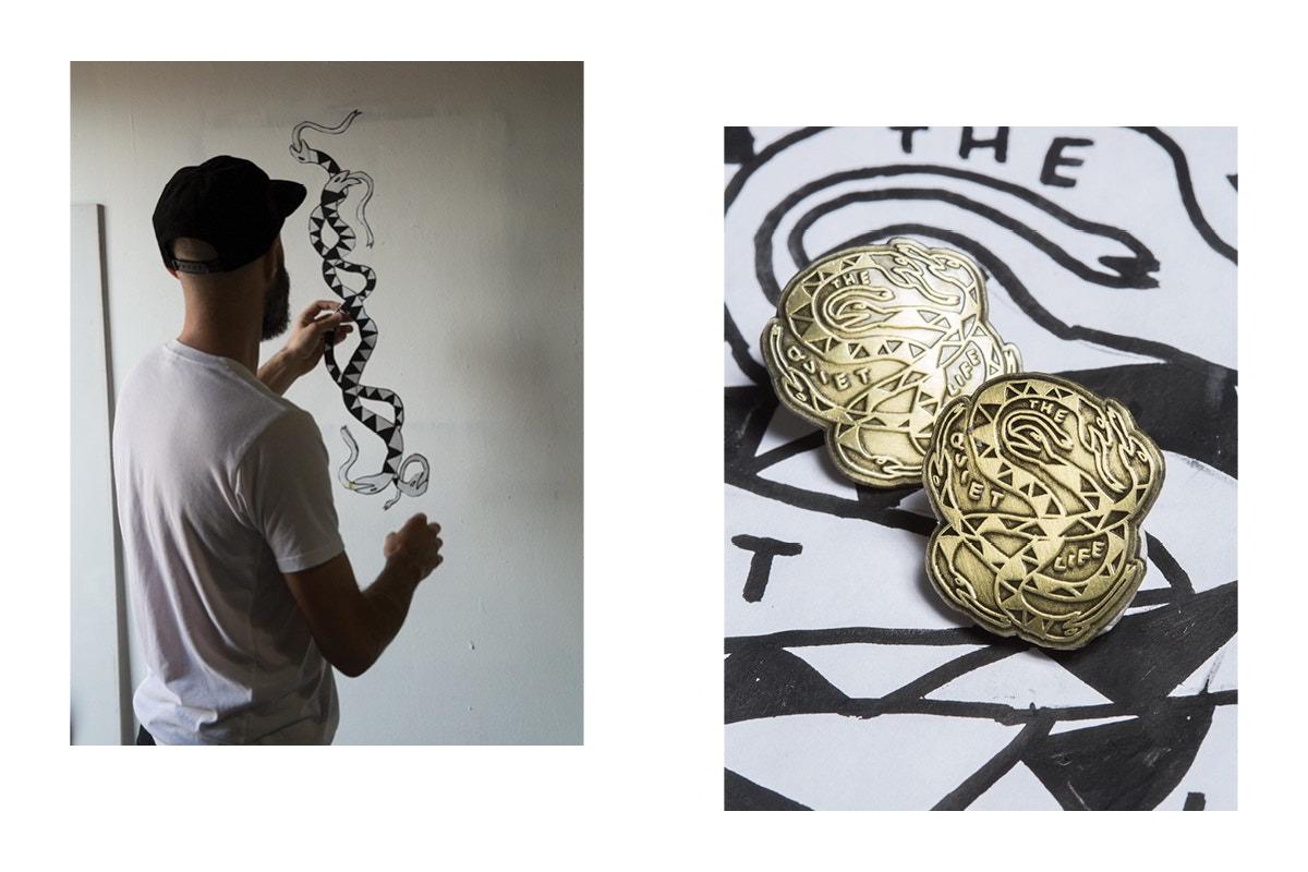 nathan bell the quiet life parceria 13 - The Quiet Life colabora com artista Nathan Bell