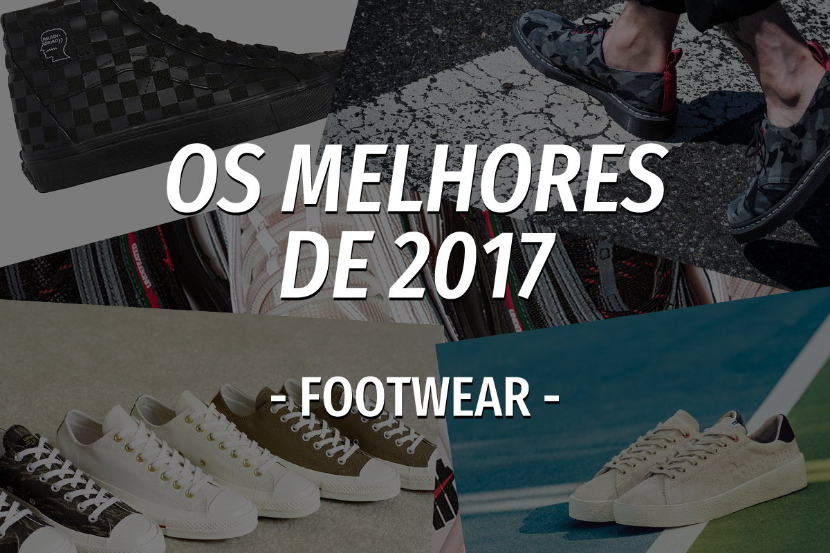 os melhores de 2017 footwear - The Quiet Life colabora com artista Nathan Bell