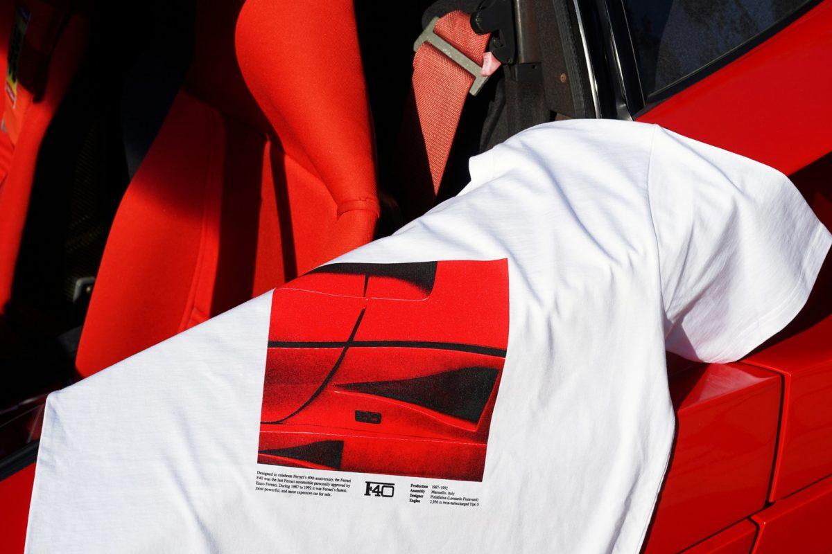 period correct maranello 02 - Period Correct pisa fundo em coleção inspirada na Ferrari F40