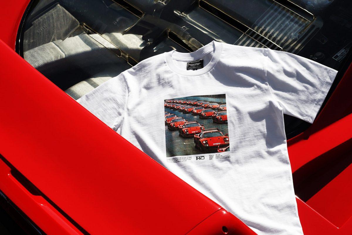 period correct maranello 05 - Period Correct pisa fundo em coleção inspirada na Ferrari F40
