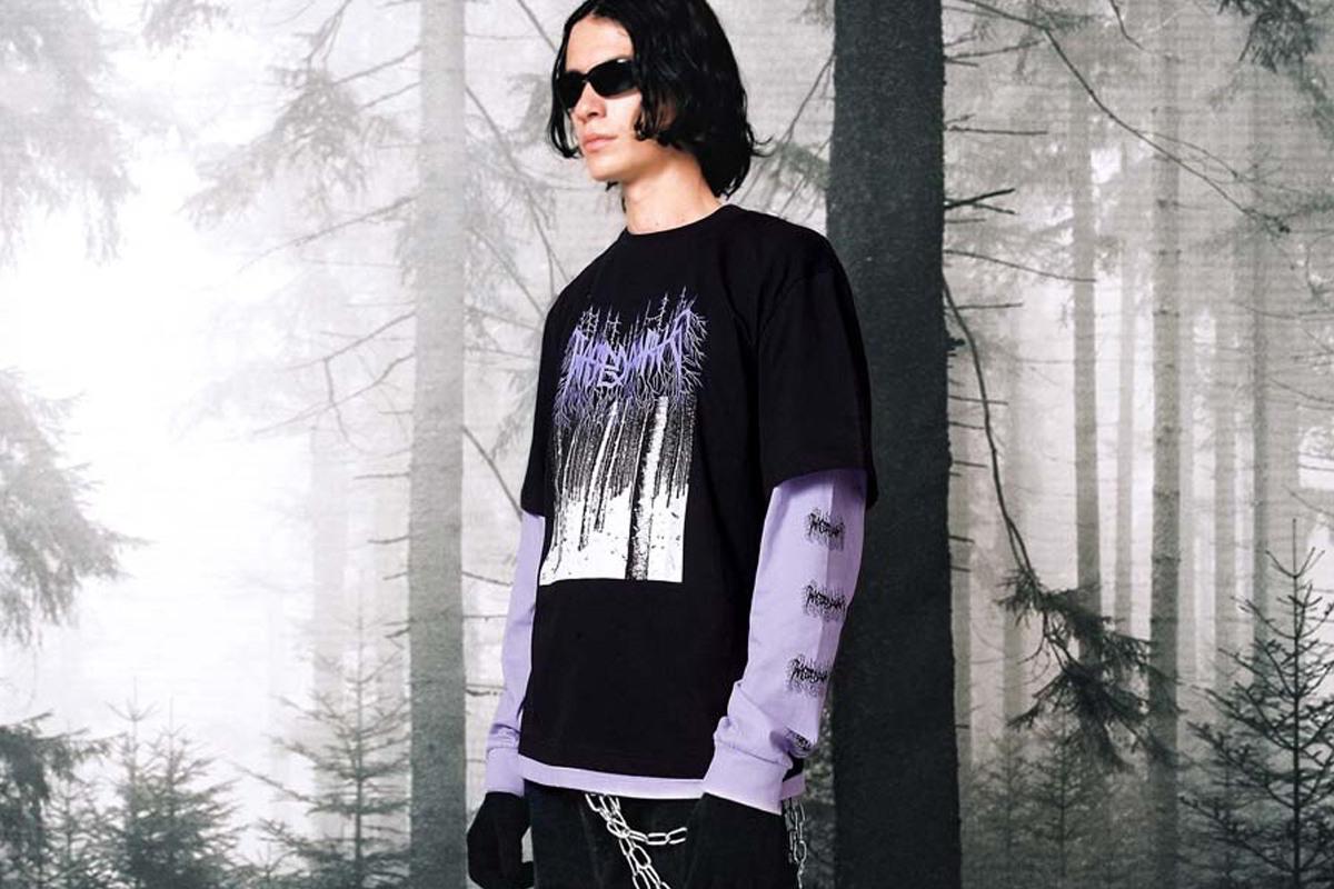 Black Metal e Sportswear inspiraram coleção da Wasted Paris