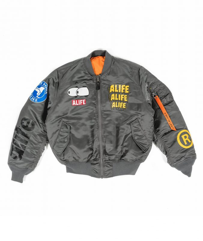 alife alpha industries jaqueta ma1 1 - ALIFE lança versão customizada da jaqueta MA-1 da Alpha Industries