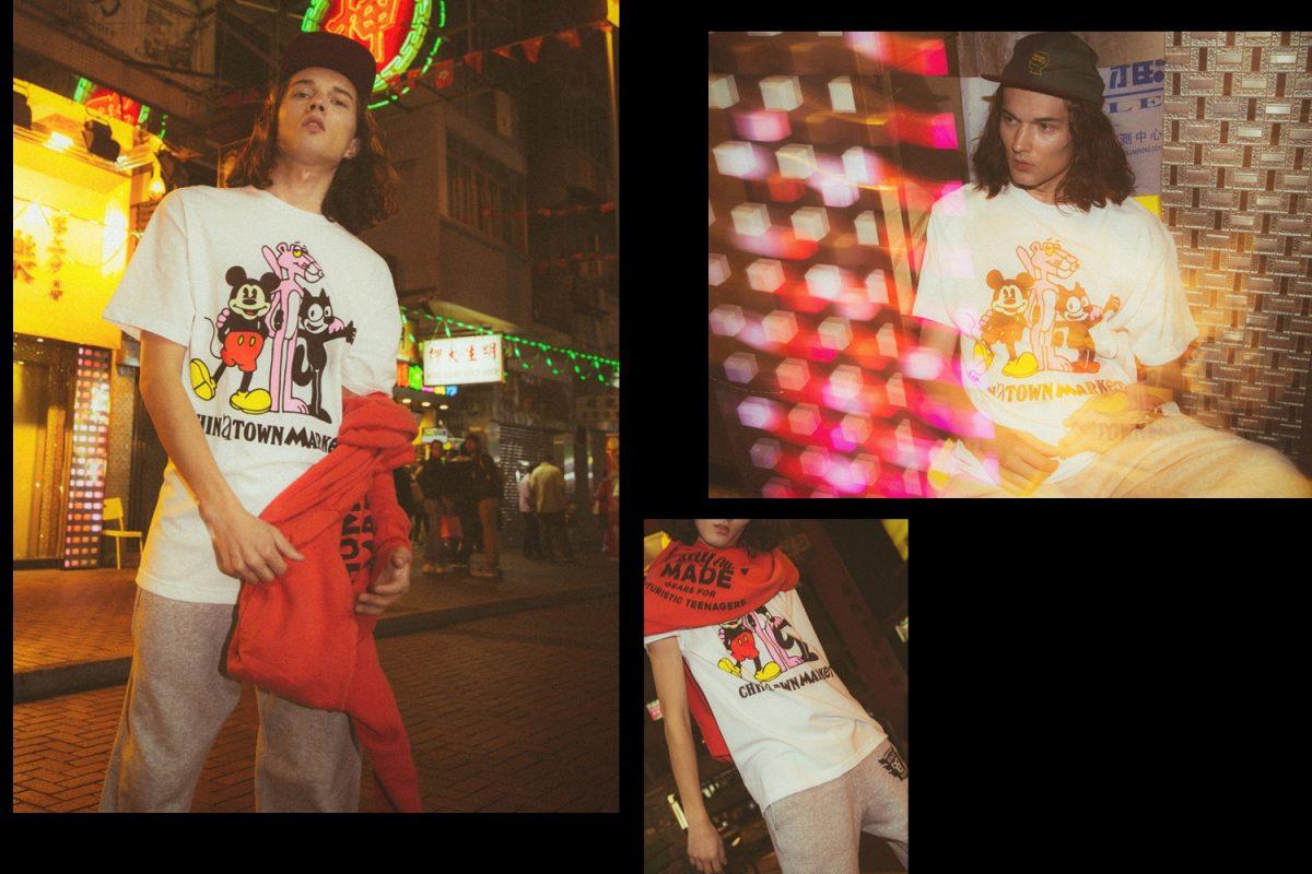 Mickey Mouse, Felix the Cat e Pantera Cor-de-Rosa estrelam coleção da Chinatown Market