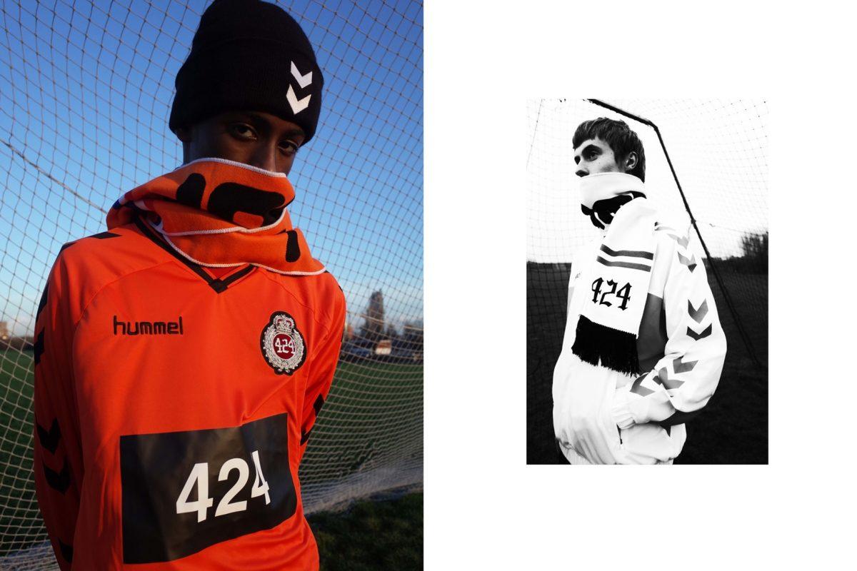 hummel 424 team soccer capsula 01 - 424 e Hummel dão continuidade à parceria