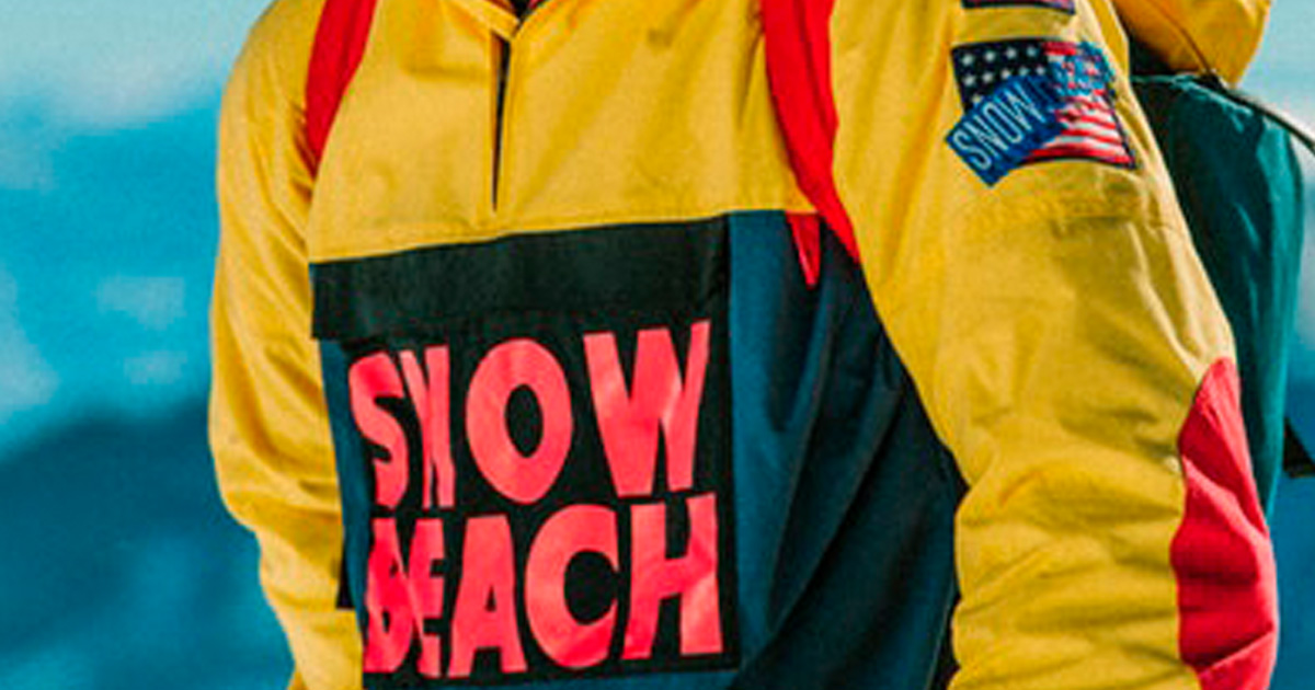 "polo ralph lauren colecao snow beach 25 anos 00 - Factoria navega na era digital em ""Bummer"""