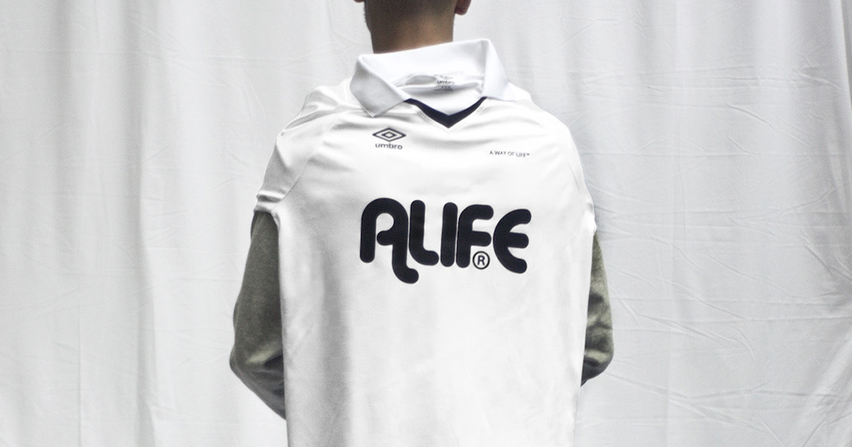 ALIFE lança camisas de futebol em parceria com a Umbro