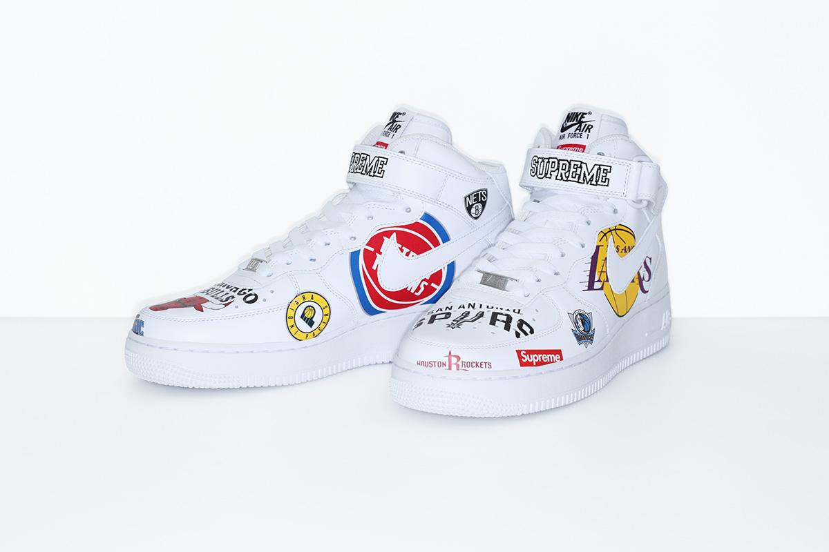 supreme nike nba colecao 08 - Supreme e Nike presenteiam fãs do basquete americano