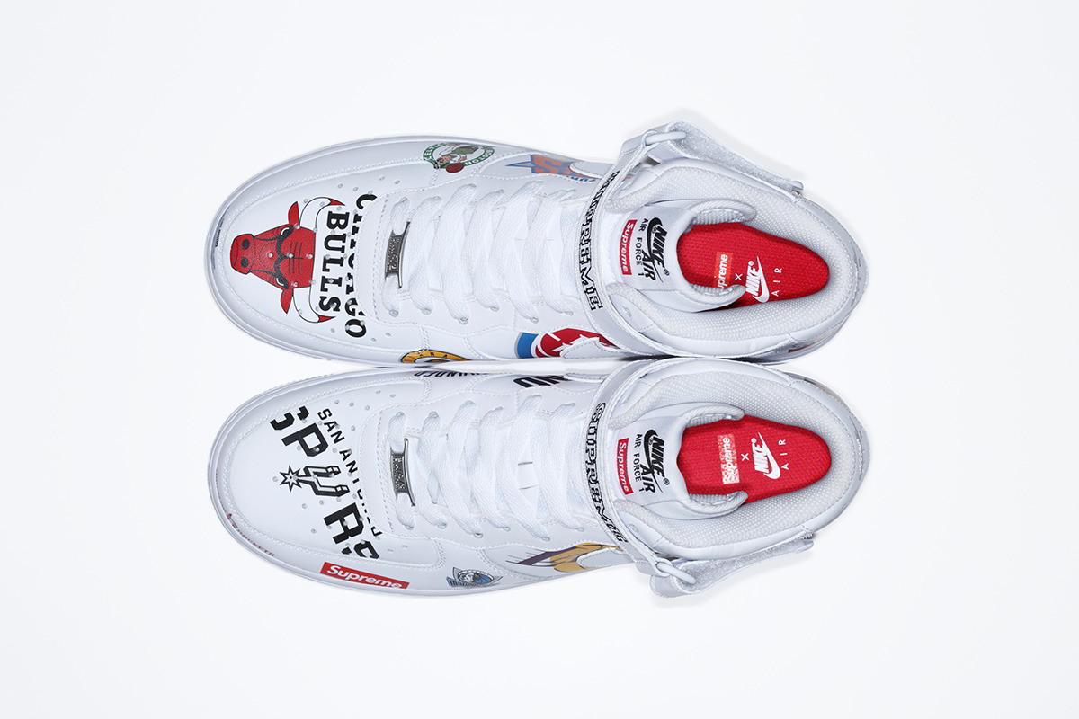supreme nike nba colecao 11 - Supreme e Nike presenteiam fãs do basquete americano
