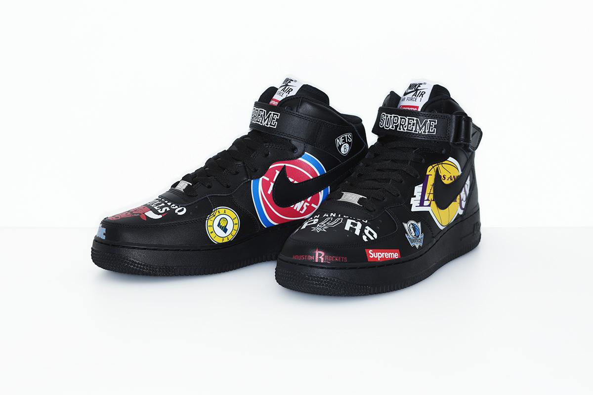 supreme nike nba colecao 12 - Supreme e Nike presenteiam fãs do basquete americano