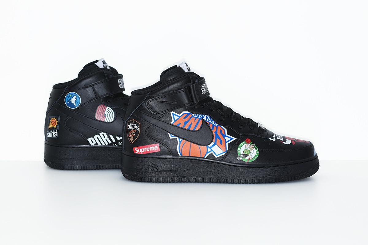 supreme nike nba colecao 14 - Supreme e Nike presenteiam fãs do basquete americano