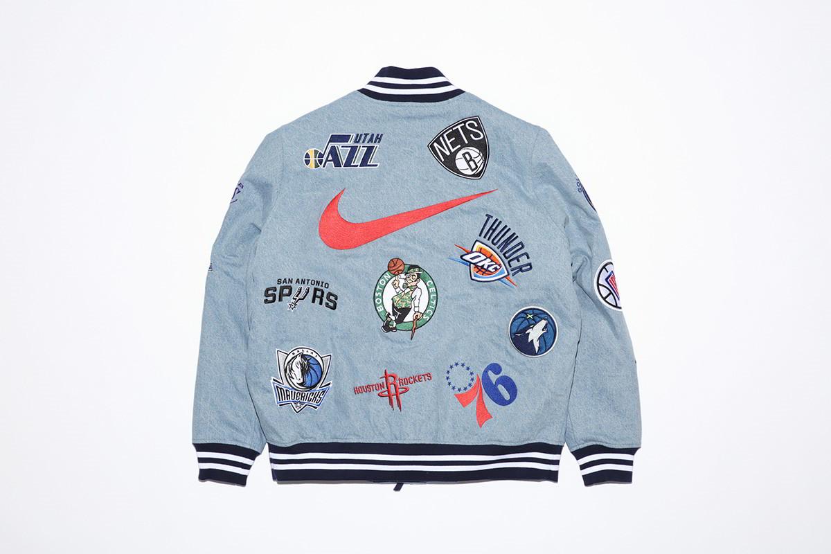 supreme nike nba colecao 18 - Supreme e Nike presenteiam fãs do basquete americano