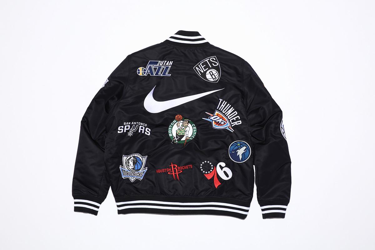 supreme nike nba colecao 20 - Supreme e Nike presenteiam fãs do basquete americano
