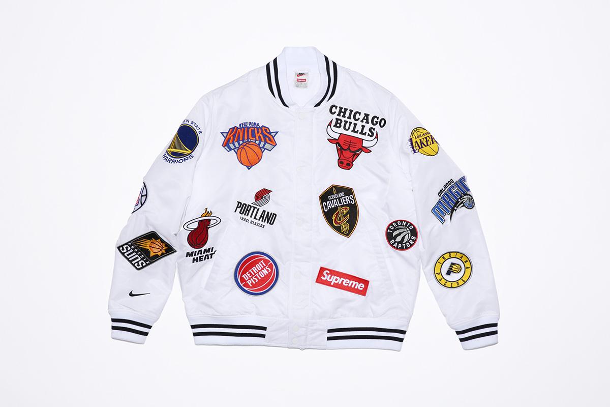 supreme nike nba colecao 21 - Supreme e Nike presenteiam fãs do basquete americano