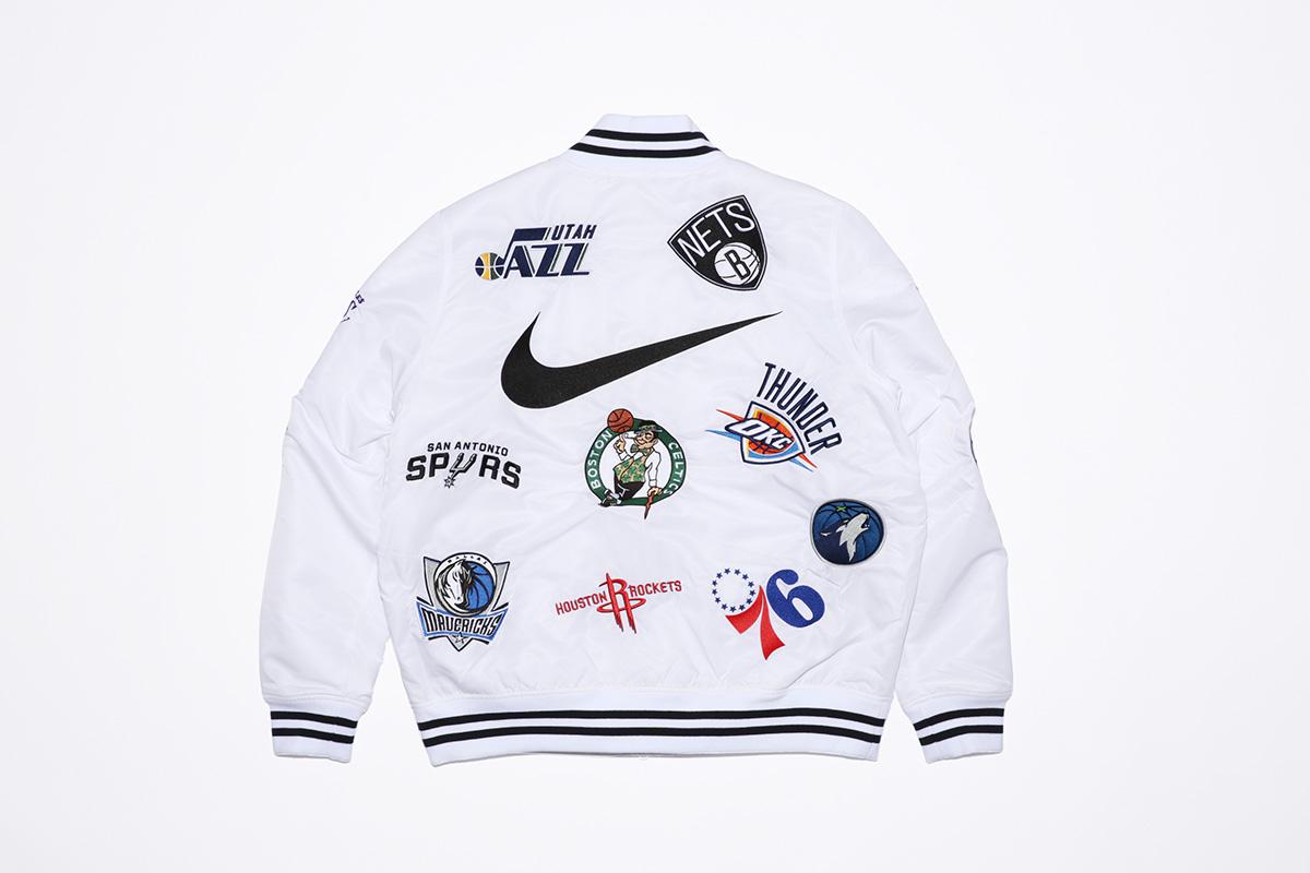 supreme nike nba colecao 22 - Supreme e Nike presenteiam fãs do basquete americano