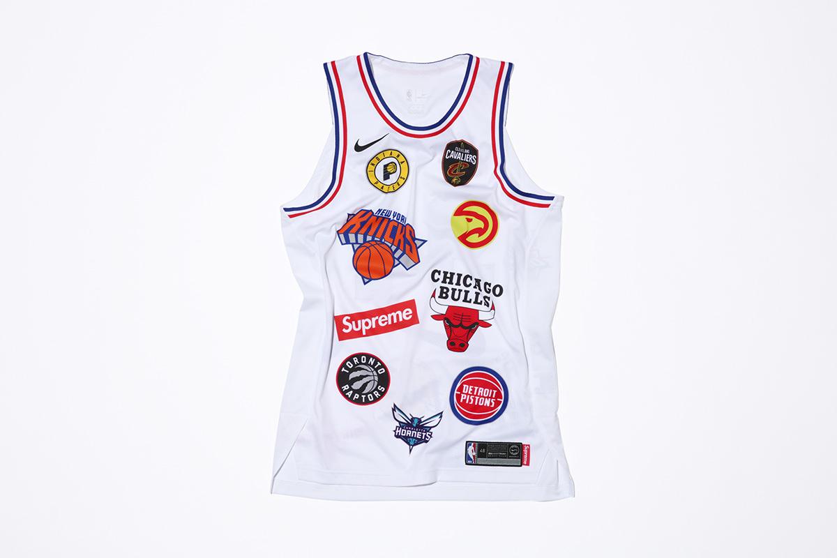 supreme nike nba colecao 23 - Supreme e Nike presenteiam fãs do basquete americano