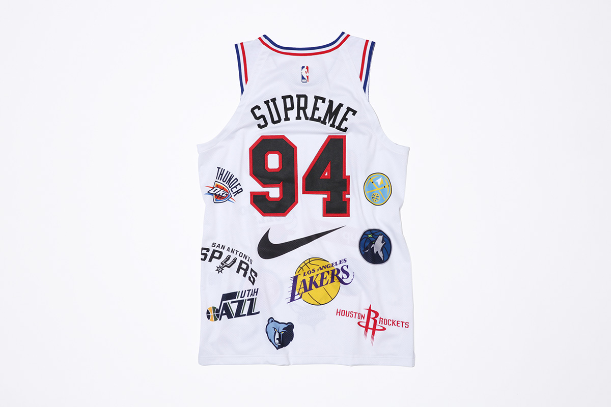 supreme nike nba colecao 24 - Supreme e Nike presenteiam fãs do basquete americano