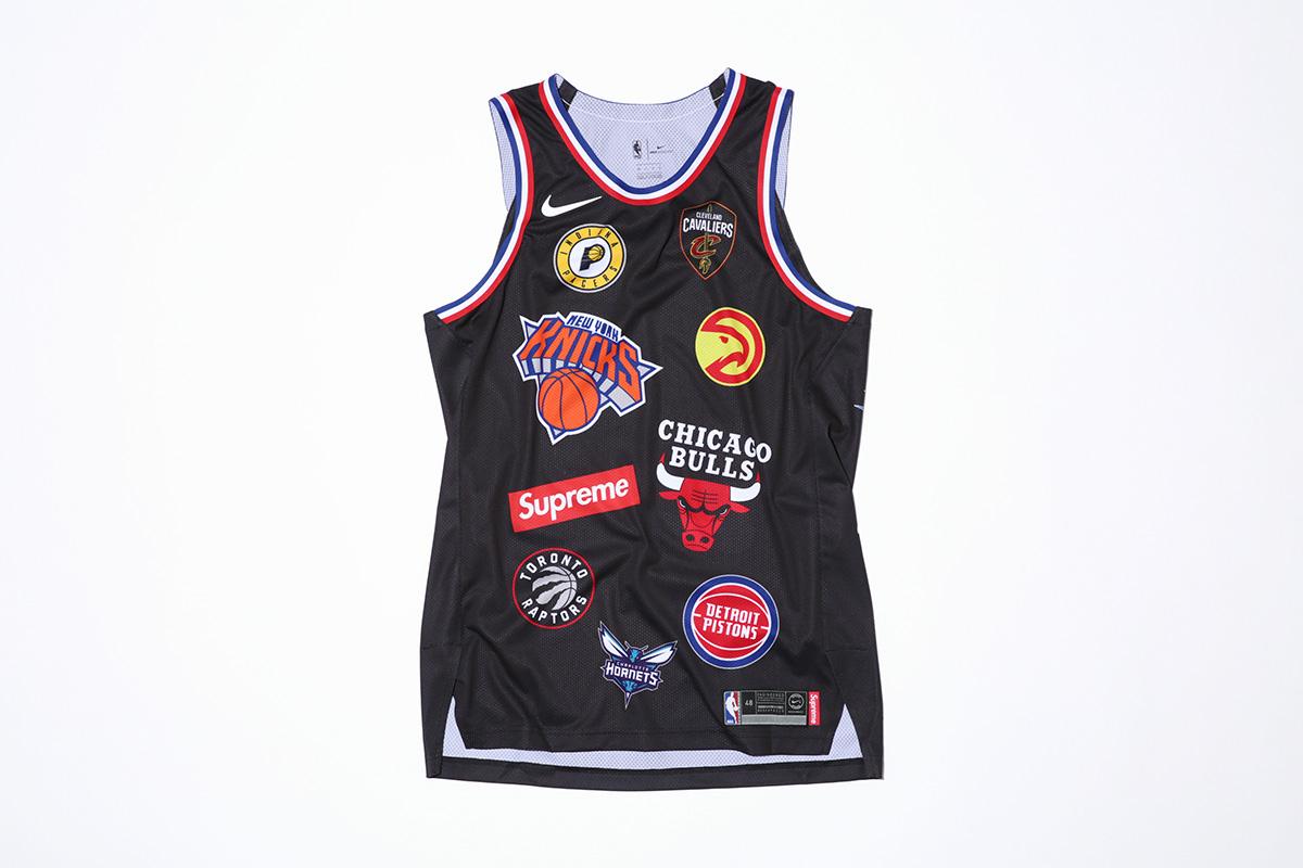 supreme nike nba colecao 25 - Supreme e Nike presenteiam fãs do basquete americano