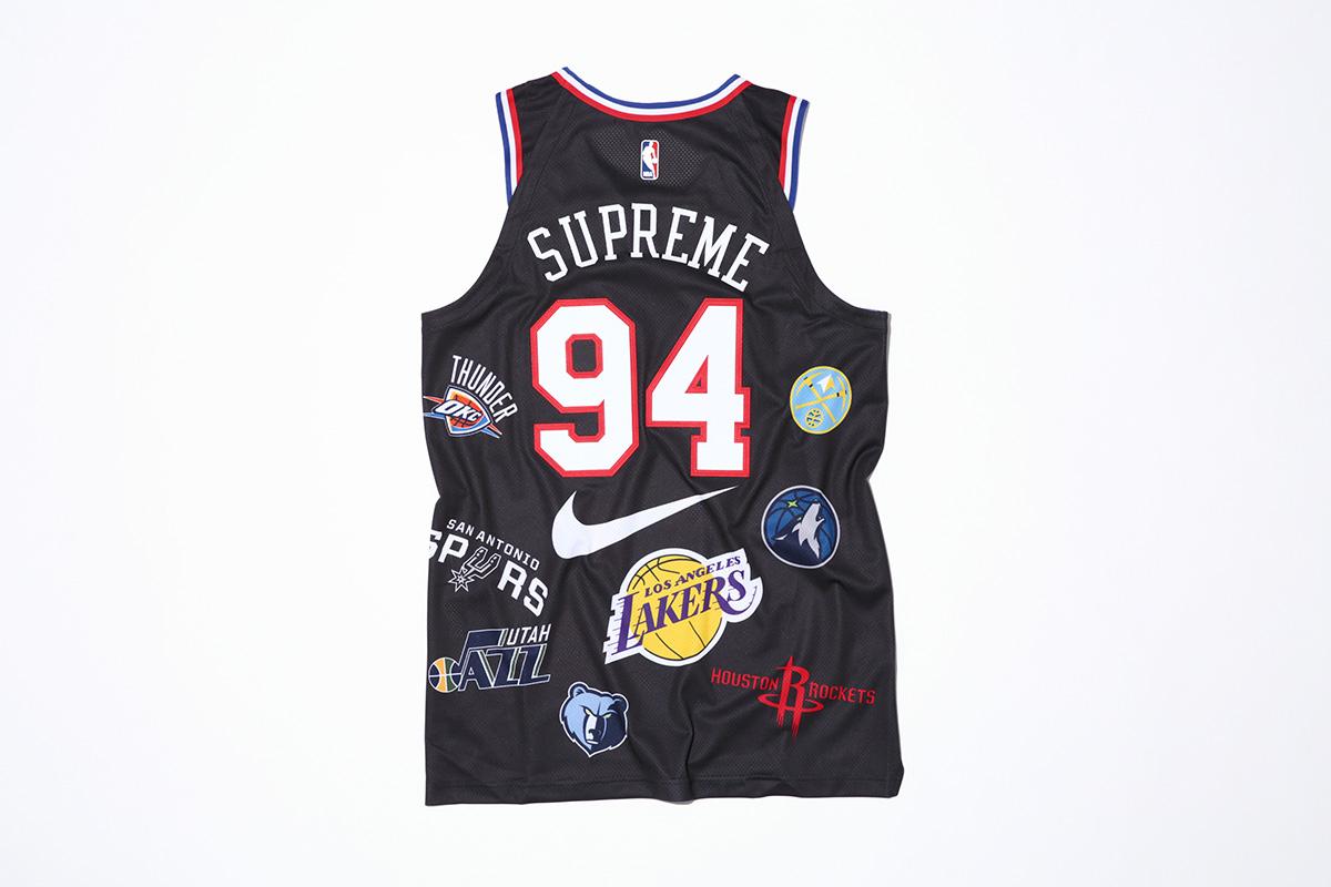 supreme nike nba colecao 26 - Supreme e Nike presenteiam fãs do basquete americano