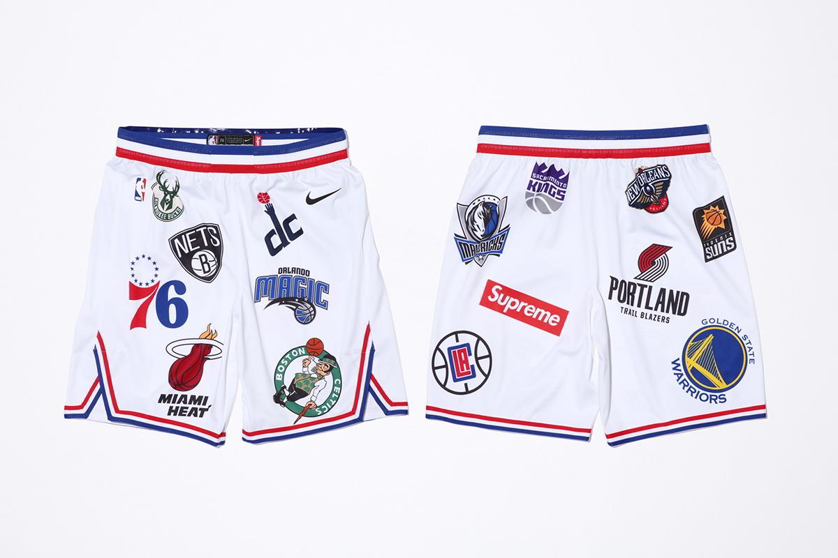supreme nike nba colecao 28 - Supreme e Nike presenteiam fãs do basquete americano