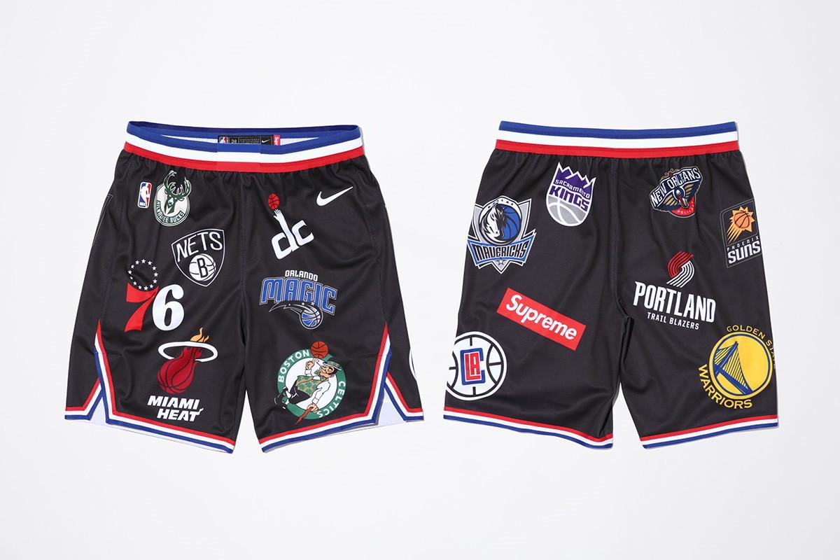 supreme nike nba colecao 29 - Supreme e Nike presenteiam fãs do basquete americano