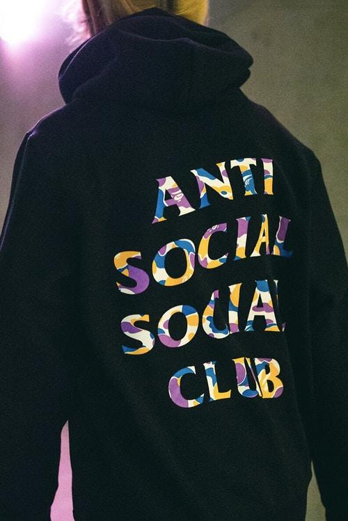 anti social social club bape collab 2018 04 - Anti Social Social Club e BAPE apresentam nova coleção em conjunto