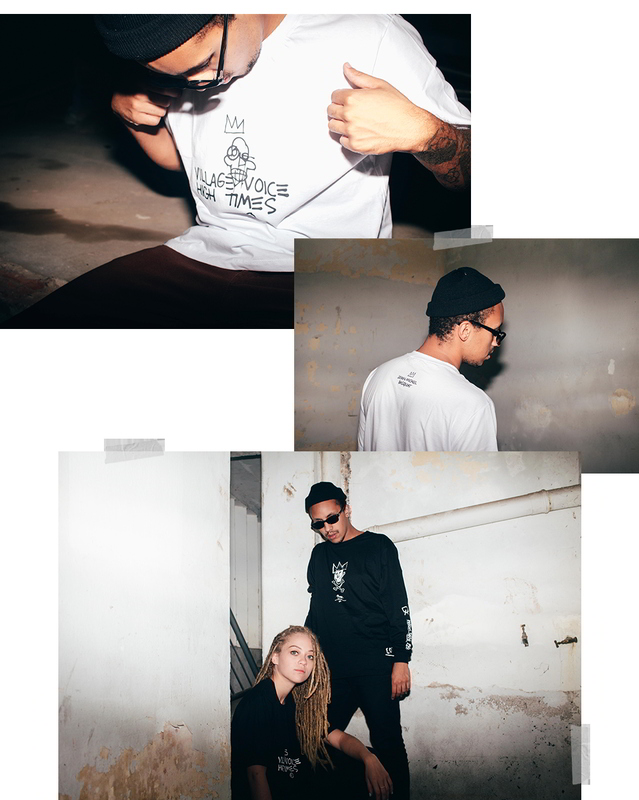 fuss company colecao same old shit 03 - Fuss Company mergulha no universo de Basquiat em cápsula