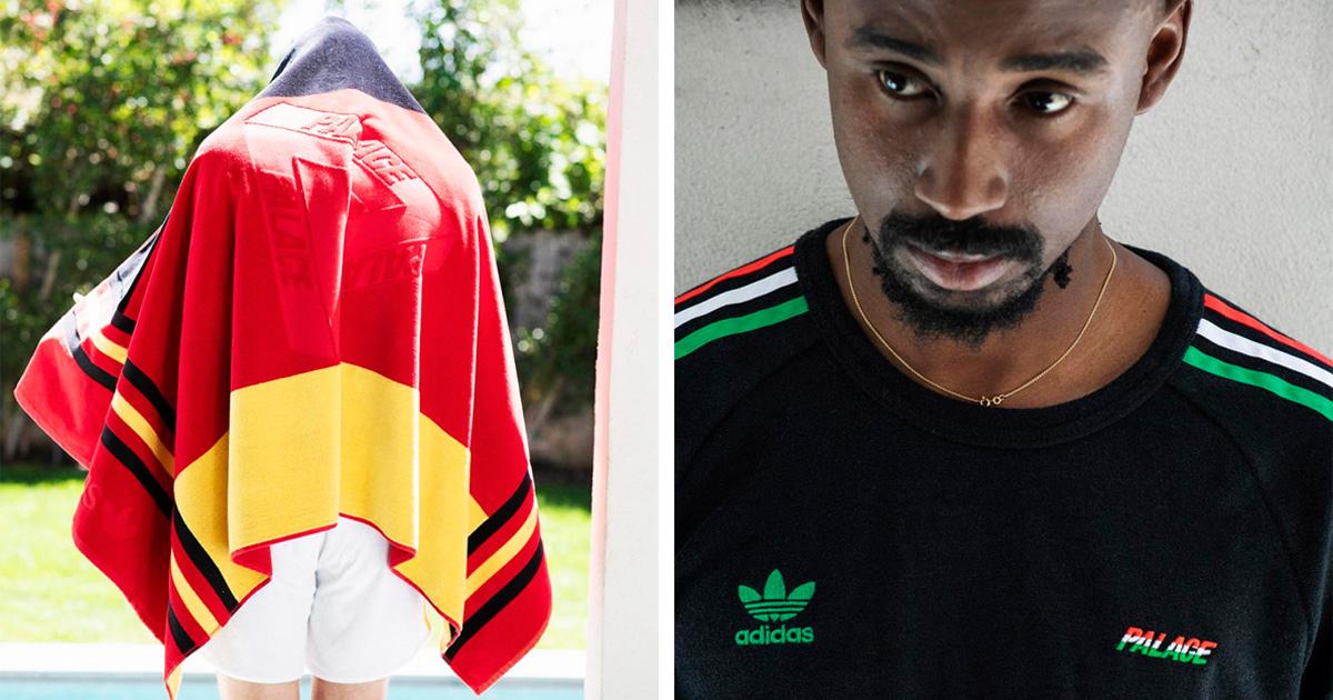 Palace e adidas Originals vem com força para o verão europeu