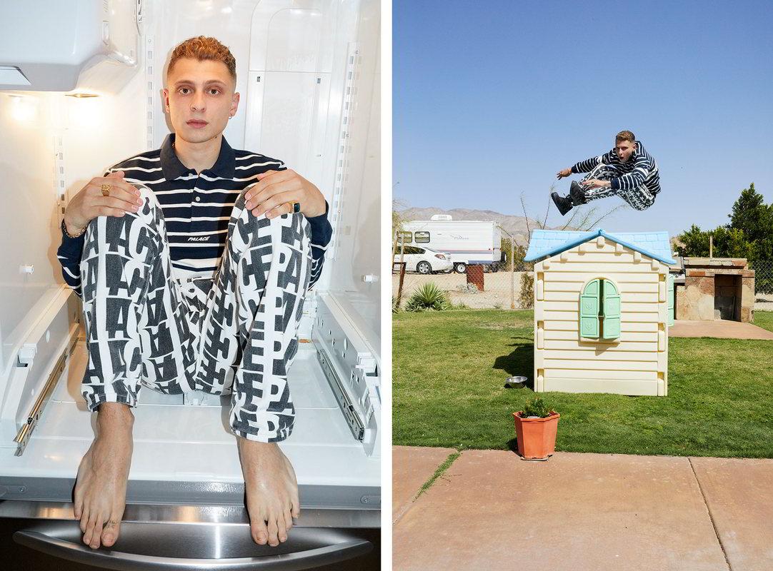 palace skateboards verao 2018 19 - Palace apresenta coleção verão com lookbook clicado por Juergen Teller