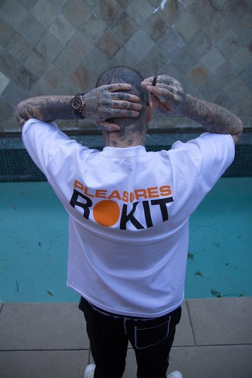 rokit pleasures primavera verao 2018 02 - Basquete e punk se misturam na parceria ROKIT x PLEASURES