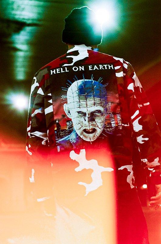 supreme hellraiser collab 01 - Pinhead é protagonista de nova parceria da Supreme