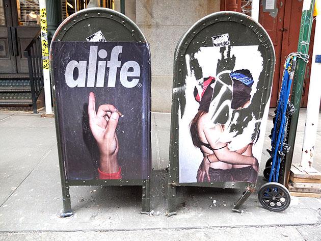 alife nyc pretty puke poster campaign 1 - Dirty Blood defende as mulheres em nova coleção