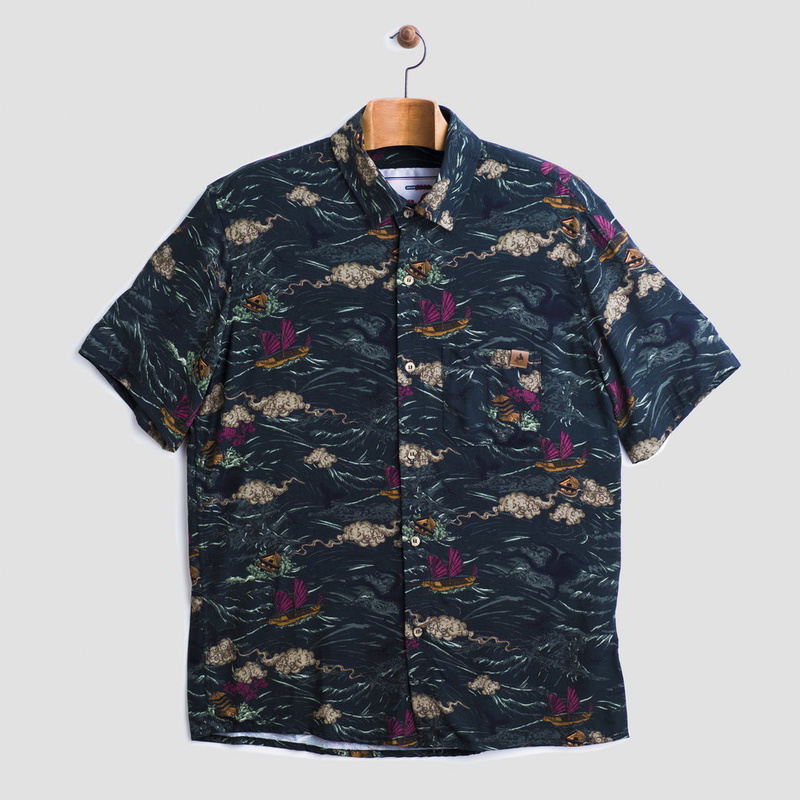 dion ochner camisa tsunami 2 - Nova camisa da Dion Ochner é inspirada em tsunami