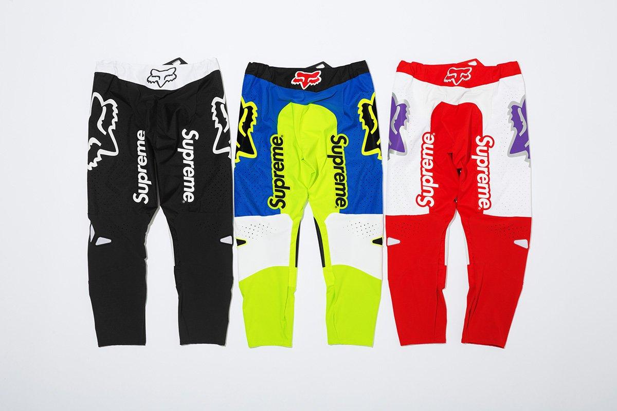 supreme fox rancing 2018 08 - Supreme acelera na tendência do motocross em parceria com Fox Racing