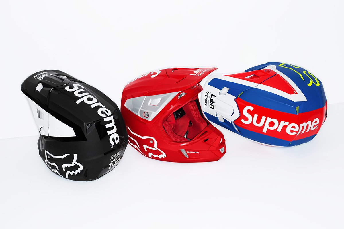 supreme fox rancing 2018 09 - Supreme acelera na tendência do motocross em parceria com Fox Racing