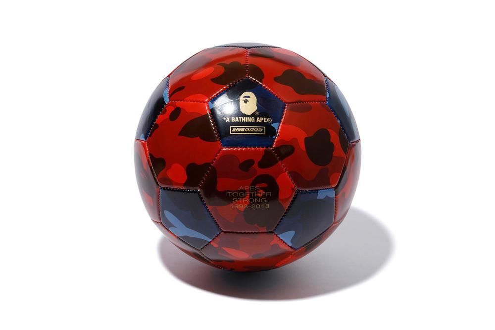 bape colecao futebol copa russia 01 - BAPE lança coleção especial para boleiros