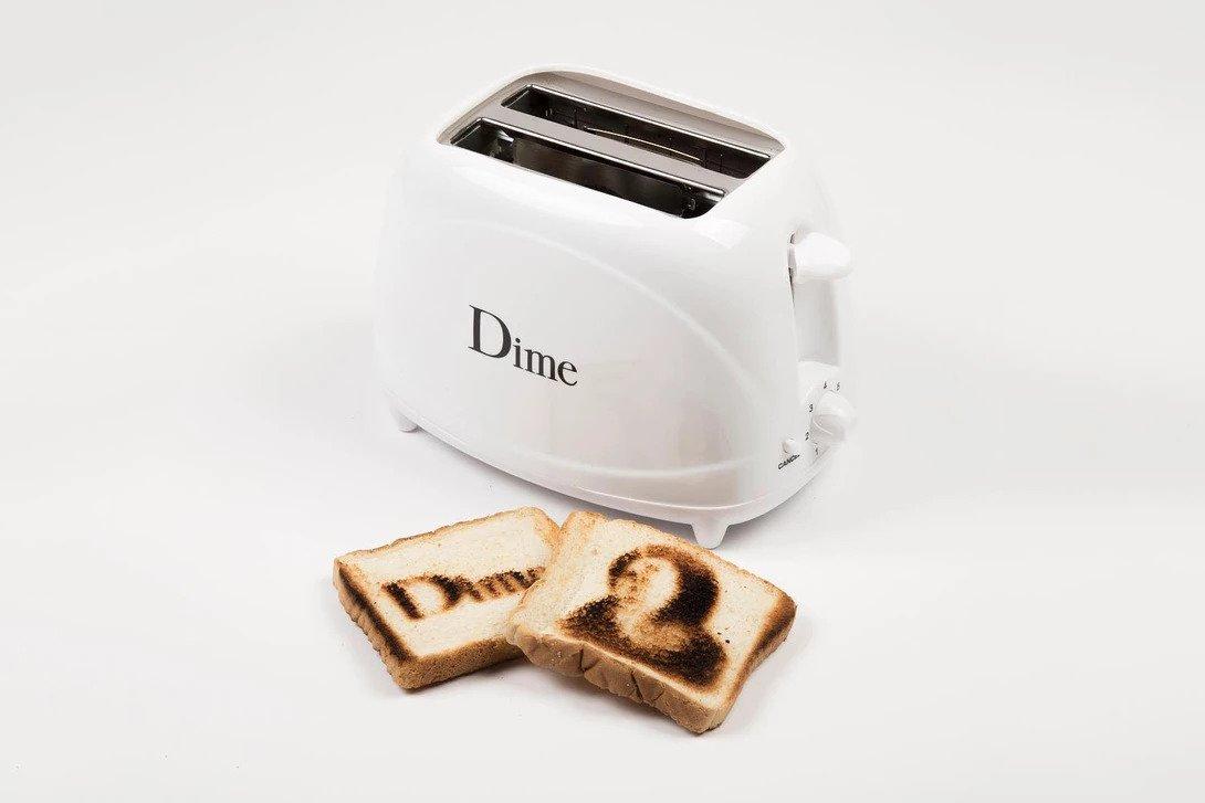 Dime lança sua própria torradeira de pães