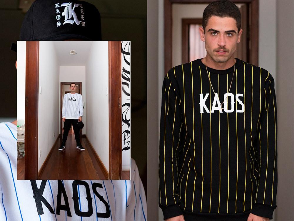 """Kaos Clothing lança segunda entrega da coleção """"Make History"""""""