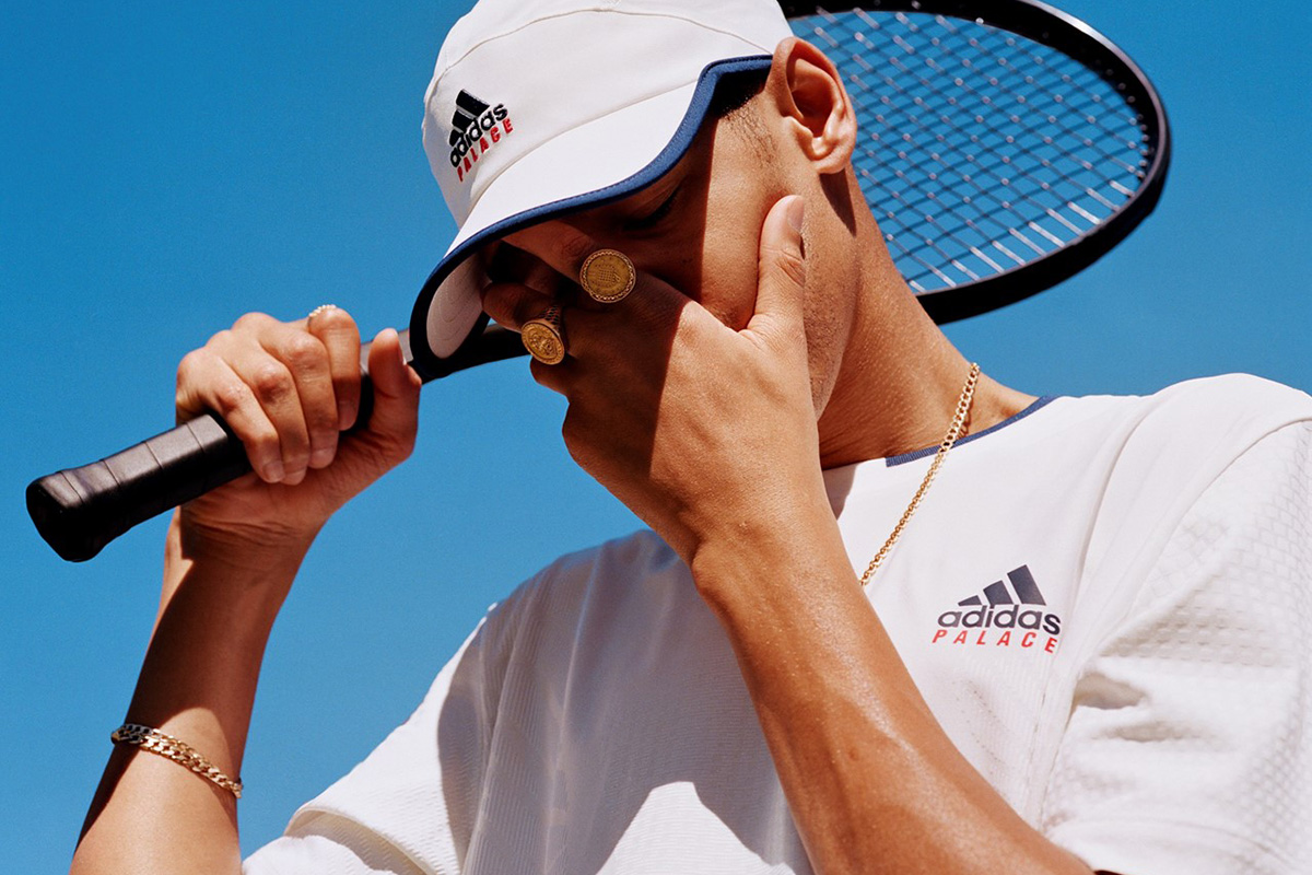 Uniformes de Tennis são novidade na parceria Palace x adidas