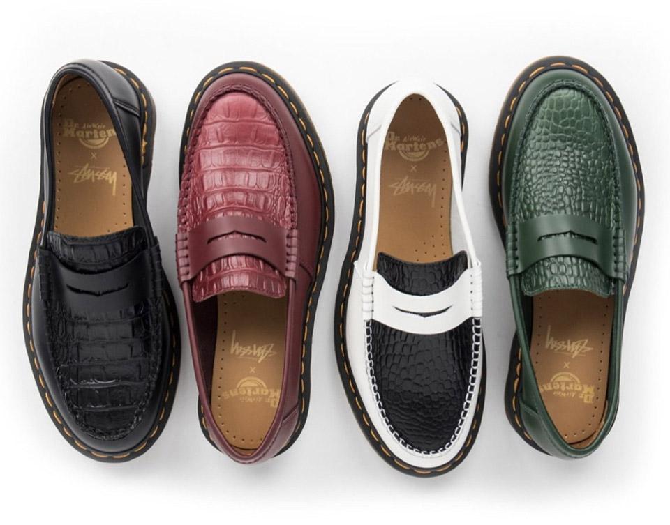 Stussy e Dr. Martens revelam novos sapatos em parceria