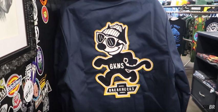 swbr visita breaknecks - Streetwear Brasil visita Breaknecks (YOUTUBE)