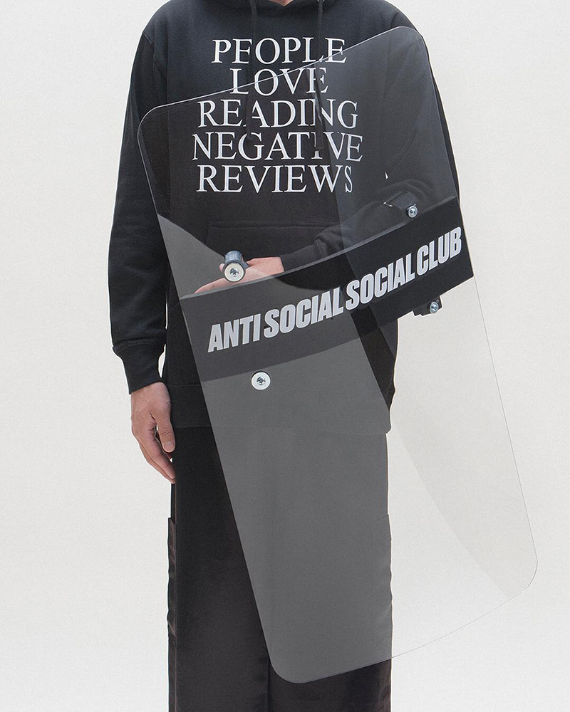 Protesto Hype: Anti Social Social Club vai lançar um escudo balístico