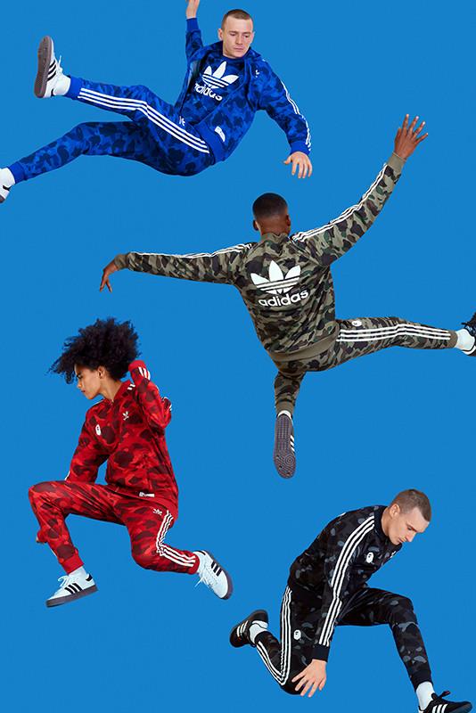 BAPE e adidas Originals apresentam nova collab em conjunto