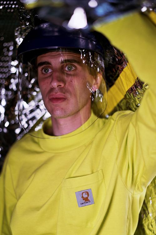 brain dead carhartt wip collab 01 - Parceira entre Brain Dead e Carhartt WIP resulta em workwear psicodélico