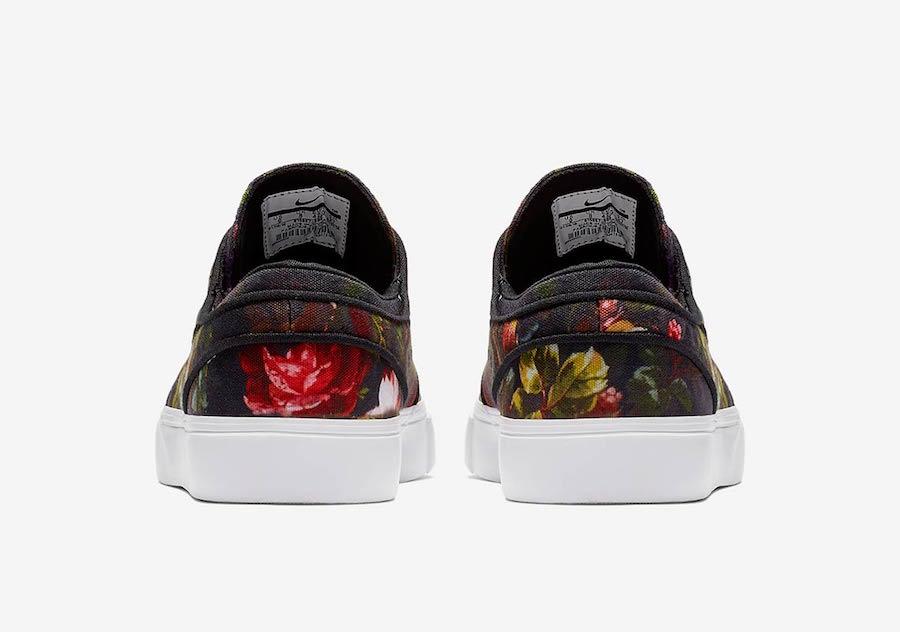 nike sb stefan janoski floral 615957 900 5 - Nike SB Stefan Janoski recebe estampa floral realista