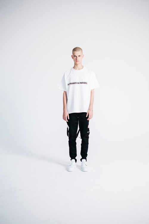 """stampd monkey time collab ss18 06 - STAMPD x monkey time """"A Stranger in Paradise"""""""